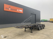 Desot 20FT/30FT ADR-Chassis, SAF+Scheibebremsen (INTRADISC), 2x Liftachse, NL-Chassis semi-trailer used