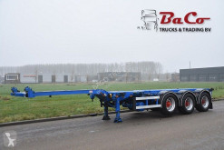 Sættevogn Pacton TXC 343 4322 - 1 LIFT AXLE - BPW AXLES - DRUM BRAKES - 2 x EXTENDABLE - containervogn brugt