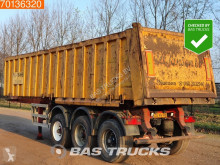 ATM tipper semi-trailer OKA 15/27 29m3 Steel Tipper Liftachse