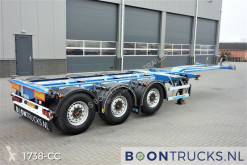 D-TEC FLEXITRAILER | 2x20-30-40-45ft HC * DISC BRAKES * APK 01-2022! semi-trailer used container