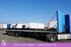 Sættevogn flatbed Schmitz Cargobull SCS 24/ SATTEL PLATEAU MULTILOCK VERZINKT