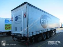 Semirremolque lonas deslizantes (PLFD) transporte de bebidas Schmitz Cargobull Curtainsider Standard Ladebordwand Getränke