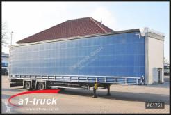 Semi reboque Schmitz Cargobull SCS 10 x 18, Mega, VARIOS, HU 11/2021 caixa aberta com lona usado