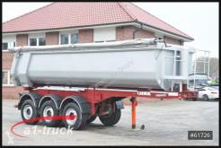 Semi remorque benne Carnehl CHKS/HH Stahlmulde 27m³ SAF Hardox Allrad