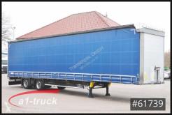 Semi reboque Schmitz Cargobull SCS 10 x 18, Mega, VARIOS, HU 12/2021 caixa aberta com lona usado