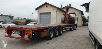 Trailor PLATEAU GRUE semi-trailer used flatbed