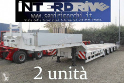 Yalcin heavy equipment transport semi-trailer carrellone allungabile 4 assi usato