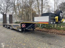 Kässbohrer LB3E Radmulde/Wheel Recess/Hyd Ramps/Extandeble 19.60 Mtr. semi-trailer used heavy equipment transport
