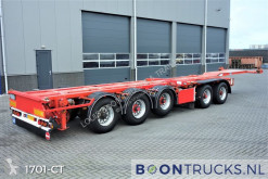 D-TEC CT5S1 1 2 | 2x20-40-45ft HC * COMBITRAILER semi-trailer used container