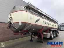 Félpótkocsi Van Hool T315 INOX 40.000Ltr - JUROP PUMP - GüLLE használt tartálykocsi