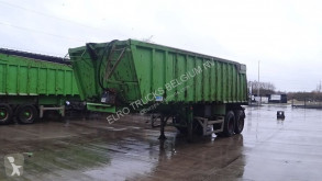 MOL tipper semi-trailer K85F/20T/37ST (8 TIRES / BELGIAN TRAILER / CHASSIS AND CABIN STEEL / 37 m³)