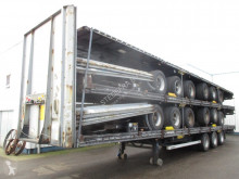 LAG chassis semi-trailer Mega Trailers , 3 BPW Axles , 2 driving positions , Drum brakes , Air suspension