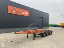 Semirimorchio LAG ADR (EXII, EXIII, FL, OX, AT), 20FT/30FT, BPW, Liftas, NL-Chassis, 5x beschikbaar portacontainers usato
