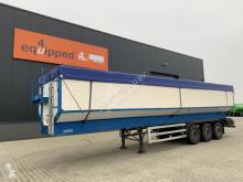 Semi remorque déchargeur automatique Bulthuis (transport) bandlosser met 2 standen, 51m3 volume, alu chassis, SAF+intradisc, gewicht, 4.950KG