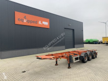 Semirremolque LAG ADR (EXII, EXIII, FL, OX, AT), 20FT/30FT, BPW, Liftachse, NL-Chassis, 5x vorhanden portacontenedores usado