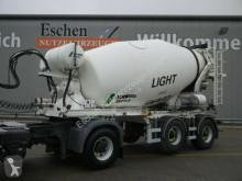 Stetter Beton Mischauflieger Stetter semi-trailer used concrete mixer concrete