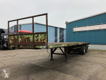 Semi remorque plateau Pacton 2530-D FULL STEEL PLATFORM TRAILER (8 TIRES / WOODEN FLOOR)
