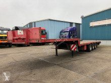 Semitrailer Burg FULL STEEL SUSPENSION SEMI TRAILER (12 TIRES / STEEL SUSPENSION) maskinbärare begagnad