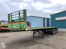 Van Hool container semi-trailer TRI/A FULL STEEL FLATBED WITH TWISTLOCKS (2x20FT / 1x40FT)