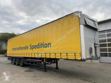 Schmitz Cargobull S01 Auflieger Pritsche + Plane + Bordwand 3 Achs semi-trailer used tarp