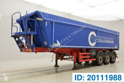 Stas tipper semi-trailer 40 cub in alu