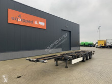 Semitrailer Schmitz Cargobull 40FT HC, BPW+drum, extendable, NL-chassis, APK: 02-03-2021 containertransport begagnad