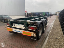 Trailer containersysteem Krone Container Chassis / 20FT / BPW axles / Drum Brakes