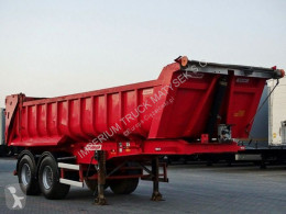 Fruehauf tipper semi-trailer TIPPER 18 M3 / WHOLE STEEL / 2 AXES / SAF /