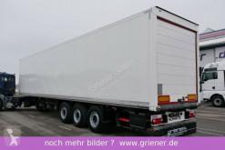 Semi reboque furgão Schmitz Cargobull SKO 24/ ROLLTOR / ZURRLEISTE / DOPPELSTOCK