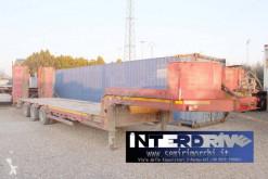 Cometto carrellone rampe idrauliche verricello cometto heavy equipment transport used