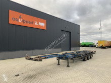 Schmitz Cargobull container semi-trailer 45FT HC, BPW+drum, 2x extendable, NL-chassis