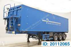 Stas 50 cub in alu semi-trailer used tipper