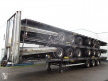 Semi remorque châssis LAG 5 Stack MEGA trailers , 3 BPW Axles , 2 driving positions , Drum Brakes , Air Suspension