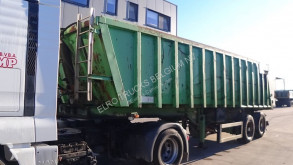 Trailer MOL K85F/20T/37ST (8 TIRES / BELGIAN TRAILER / CHASSIS AND CABIN STEEL / 37 m³) tweedehands kipper