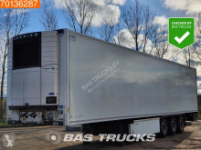 Krone mono temperature refrigerated semi-trailer Vector 1950 Doppelstock Palletenkasten Trennwand Liftachse