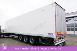Schmitz Cargobull box semi-trailer SKO 24/ DOPPELSTOCK / ZURRLEISTE /LIFT /LED