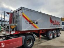 Langendorf construction dump semi-trailer SKA 24/29 34 m³ Alu Mulde Liftavhse Alu Felden Schlammdicht