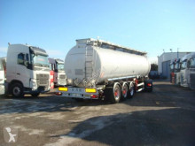 Magyar chemical tanker semi-trailer CITERNE INOX CHIMIQUE MONOCUVE 38T ADR 33000L 3 ESSIEUX SMB SUSPENSIONS AIR FREINS A DISQUES ABS COMPRESSIBLE
