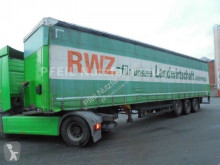 نصف مقطورة مغطاة Schmitz Cargobull SCS 24 Tautliner- Lift-Ersatzrad-Staplerhalterug