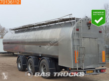 Lako Jansky 35.000 Ltr / 1 / Milk Pump + Counter 2x Lenkachse Liftachse semi-trailer used food tanker