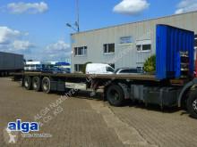 Krone SD, Plattform, Rungentaschen, Luftfederung, BPW semi-trailer used dropside flatbed