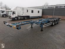 Pacton TXC339 3-assen SAF - Trommelremmen - 2x 20FT 1x 40FT - 4700kg - 07/2021 APK (O478) semi-trailer used container