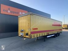 Yarı römork Krone mega, schuif- en hefdak, schijfremmen, rongpotten, huckepack, 101m3, 3x beschikbaar ikinci el araç