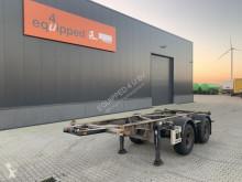 Semirimorchio Van Hool 20FT Chassis, verzinkt, Leergewicht: 3.020kg, BPW usato