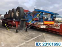 Semi remorque Fruehauf Skelet 20-40 ft porte containers occasion