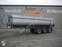 نصف مقطورة حاوية Langendorf SKS-HS 24/28, 27 m³ Stahl, Plane, Luft/Lift, SAF