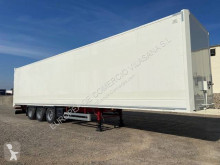 Semi remorque Lecitrailer furgon paquetero fourgon occasion