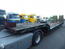 Andover lowbed, Rampe, ABS,SFCL46 semi-trailer used heavy equipment transport