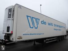 Chereau Thermo king SL 200 E, SAF, 5855 diesel Stunden semi-trailer used mono temperature refrigerated