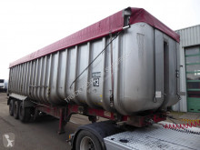 Semitrailer flak Fruehauf Cerals, 55 m3, SAF, Steel Chassis, Alu Box/ Alu Aufbau, Getreide, Cereals Hyva